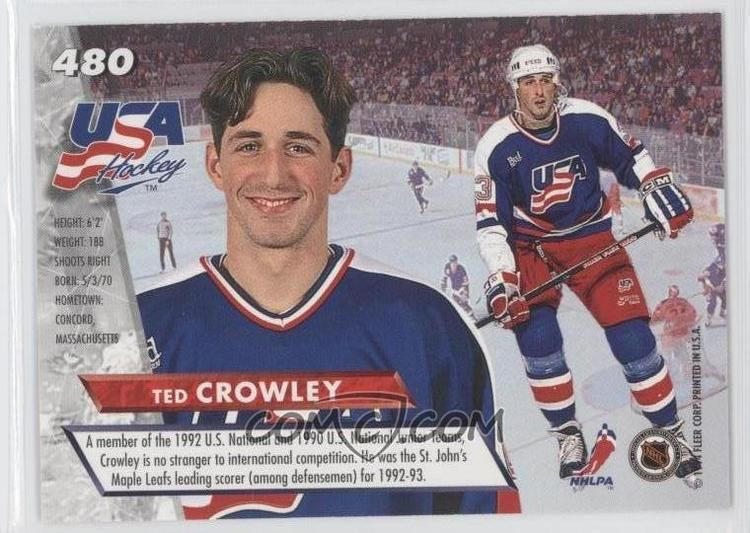 Ted Crowley 199394 Fleer Ultra Base 480 Ted Crowley COMC Card Marketplace
