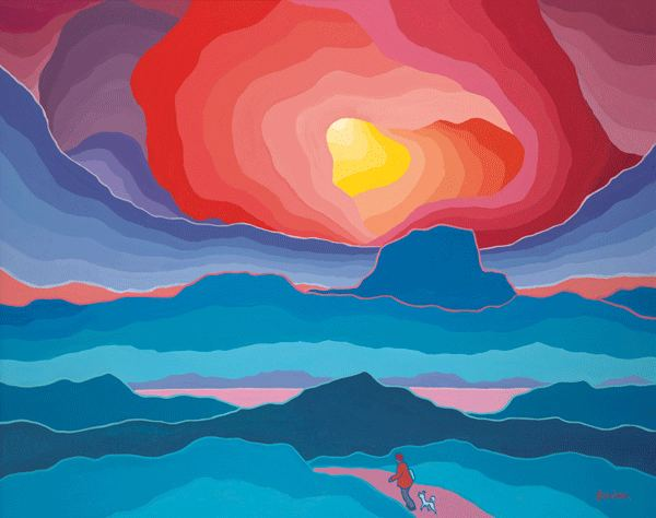 Ted Harrison Canadian painter Ted Harrison dies at 88 Vancity Buzz