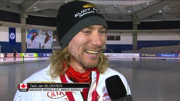 Ted-Jan Bloemen TedJan Bloemen interview Mens 5000ms ISU Speed skating World