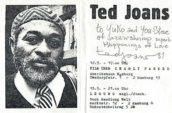 Ted Joans Lets get TEDucated Tribute to Ted Joans ARTEIDOLIA