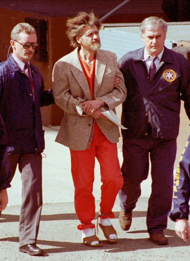 Ted Kaczynski 19781995 When Theodore John Kaczynski Was The Heroic Unabomber
