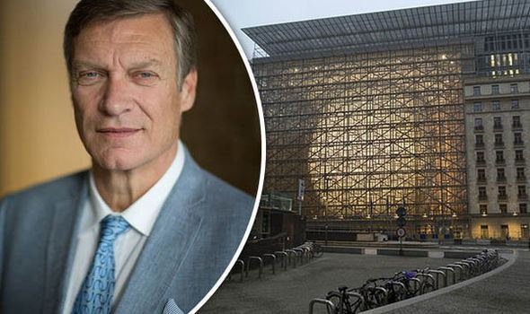 Ted Malloch CEO and Professor Ted Malloch is Donald Trumps man in Brussels