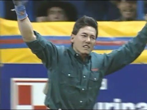 Ted Nuce Ted Nuce vs Wolfman 93 NFR Rd 4 YouTube