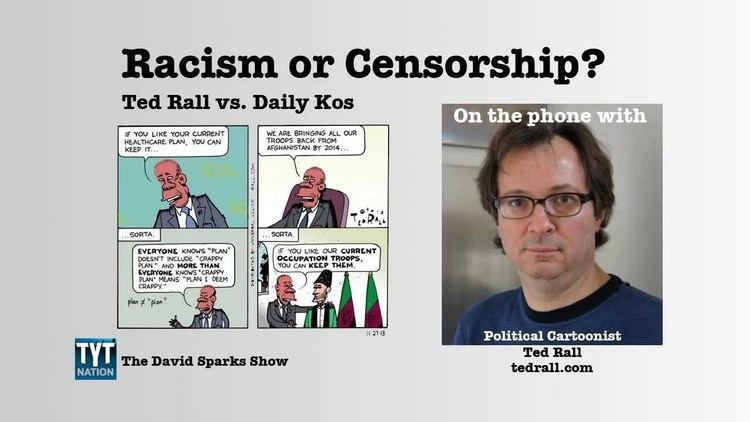 Ted Rall Racism or Censorship An Interview with Ted Rall YouTube