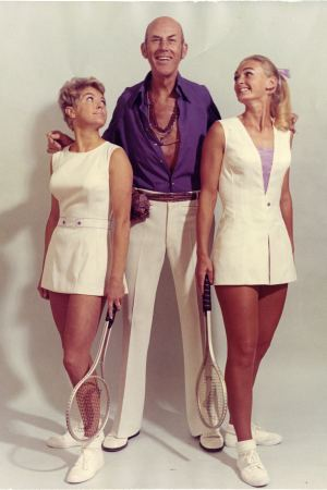 Ted Tinling US Open Fashion A Look Back at Tennis Dress Design Legend Ted