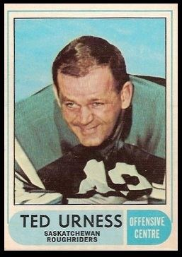Ted Urness Ted Urness 1968 OPeeChee CFL 97 Vintage Football Card Gallery