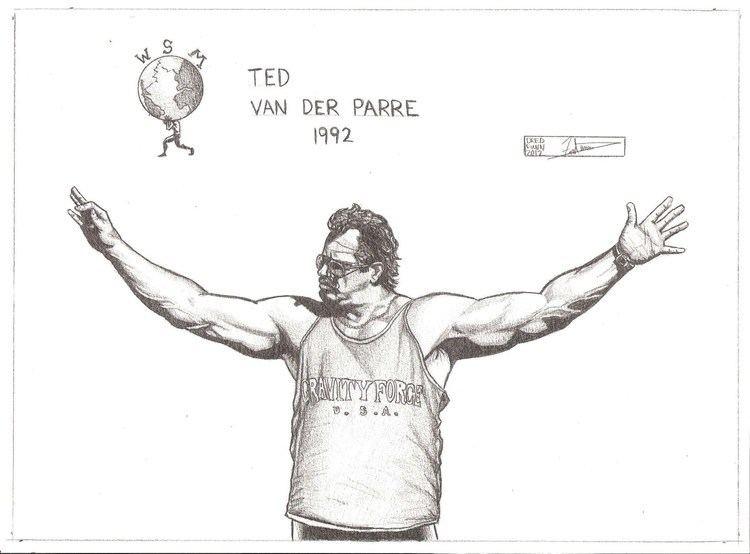 Ted van der Parre Ted Van Der Parre Worlds Strongest Man A Dredfunn Original