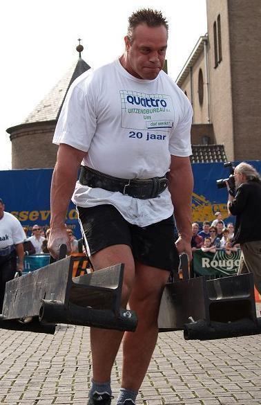 Ted van der Parre The Dutch Giant Richard van der Linden Strongman