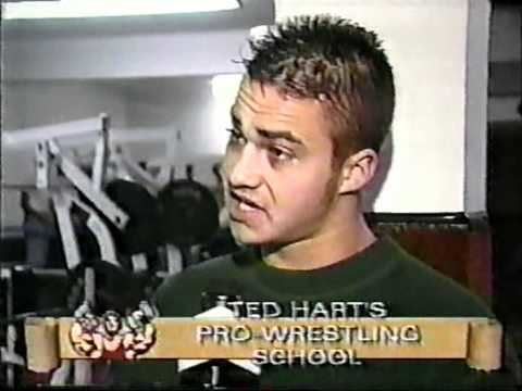 Teddy Hart Teddy Hart Wrestling School Commercial YouTube