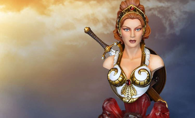 Teela Masters of the Universe Teela Quarter Scale Collectible Bust