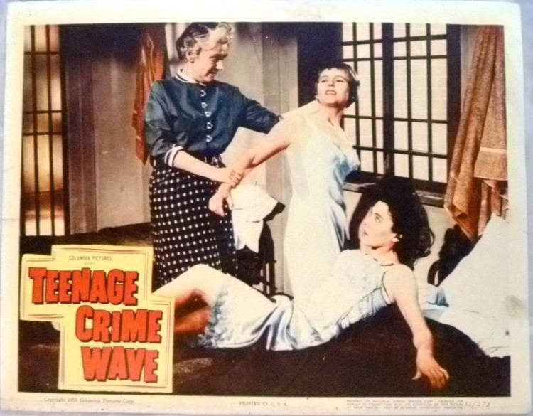 Teen-Age Crime Wave Teenage Crime Wave 1955 Lobby Card Media Collectibles