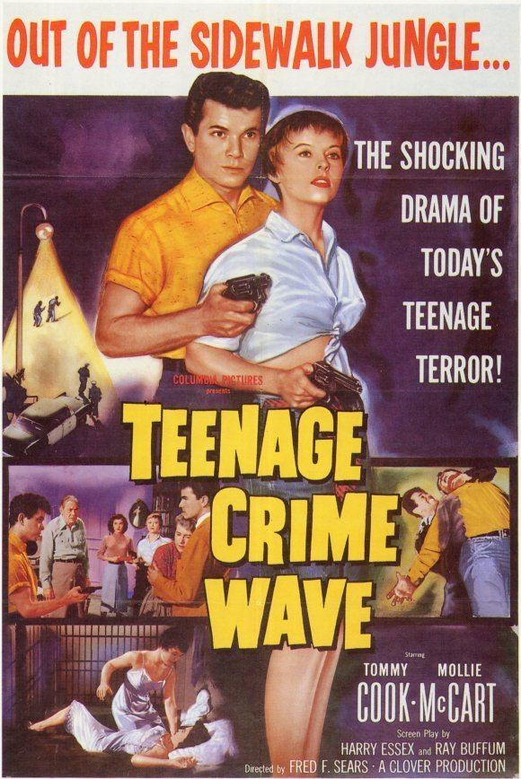 Teen-Age Crime Wave Teenage Crime Wave Movie Posters From Movie Poster Shop