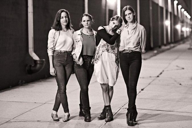 Teen (band) Teen Bootleg Theater April 28 2014 LA Weekly