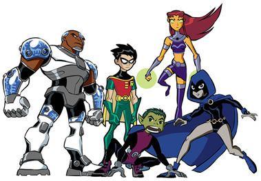 Teen Titans Teen Titans TV series Wikipedia