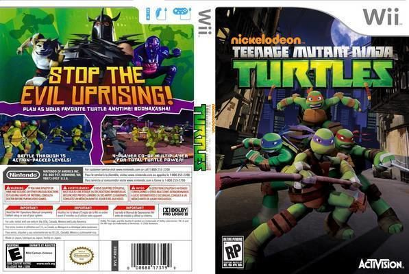 Teenage Mutant Ninja Turtles (2013 video game) wwwcoversresourcecomcoversTeenageMutantNinja