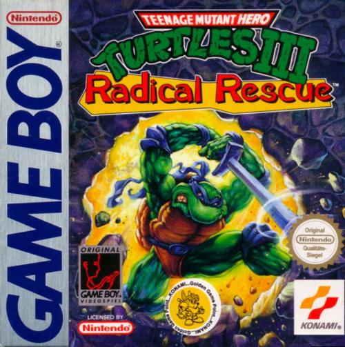 Teenage Mutant Ninja Turtles III: Radical Rescue Play Teenage Mutant Ninja Turtles III Radical Rescue Nintendo Game