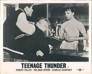 TEENAGE THUNDER MELINDA BYRON 50S HOT ROD MOVIE LOBBY CARD eBay