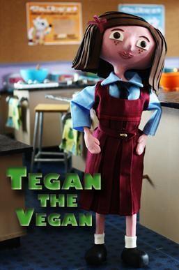 Tegan the Vegan movie poster
