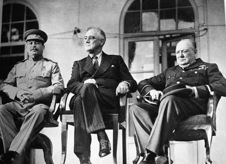 Tehran Conference FDR and THE Teheran Conference