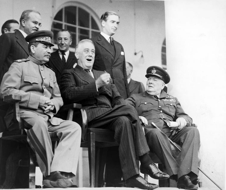 Tehran Conference The Big Three at the Tehran Conference 1943