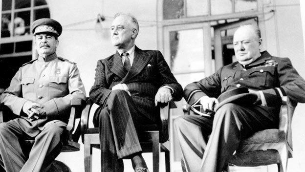 Tehran Conference Yalta Conference World War II HISTORYcom
