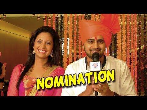 Tejashree Pradhan Ketkar Honar Sun Mi Hya Gharchi Zee Marathi Awards 2014