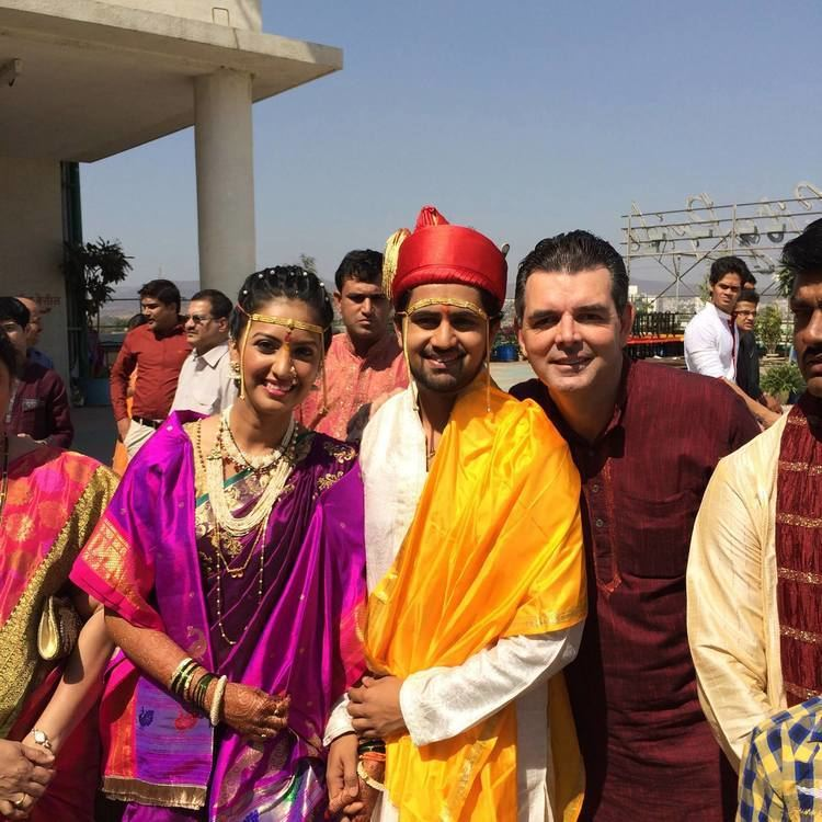 Tejashree Pradhan Ketkar Tejashree Pradhan and Shashank Ketkar Marriage Photos