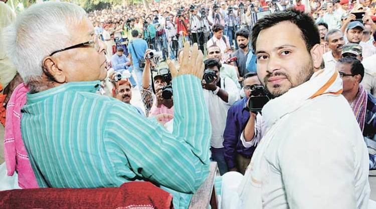 Tejashwi Yadav BJP urges EC to probe age discrepancy of Lalu39s sons The
