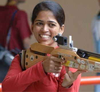 Tejaswini Sawant Girl with a golden gun