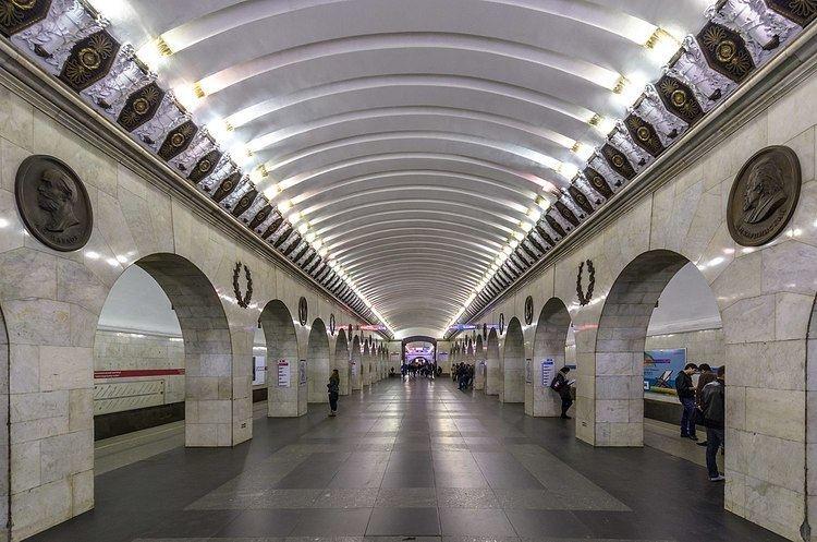 Tekhnologichesky Institut (Saint Petersburg Metro)
