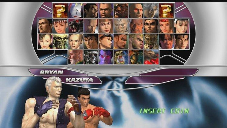 Tekken Tag Tournament Tekken Tag Tournament HD KazuyaBryan Playthrough PS3 YouTube