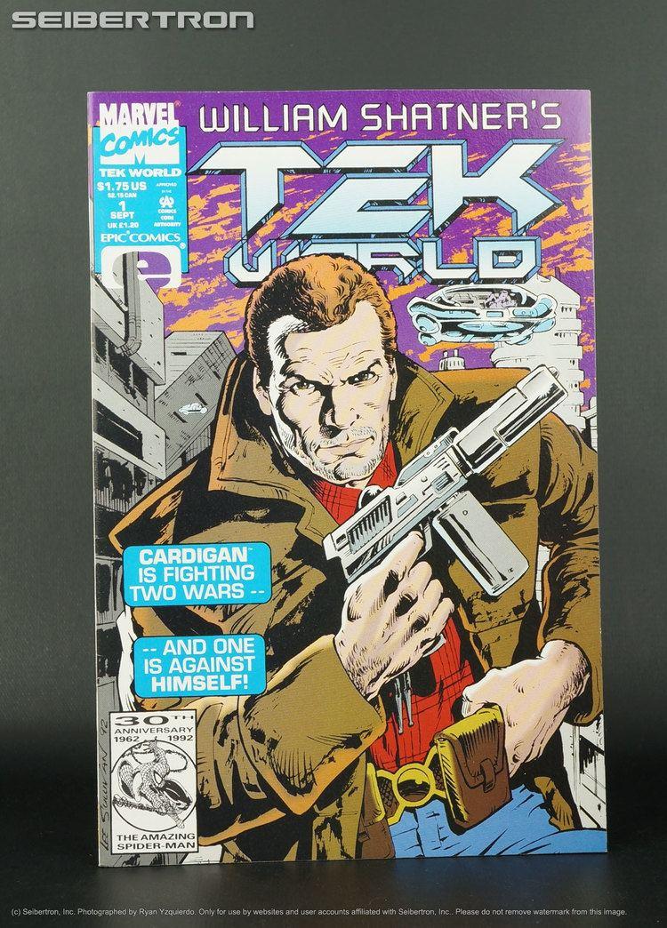 TekWorld Marvel Comics William Shatneramp039s TEK WORLD 1 Cardigan eBay
