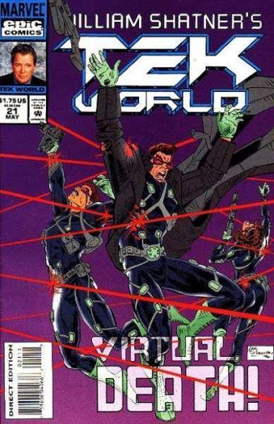 TekWorld Tekworld Comic Books for Sale Buy old Tekworld Comic Books at www