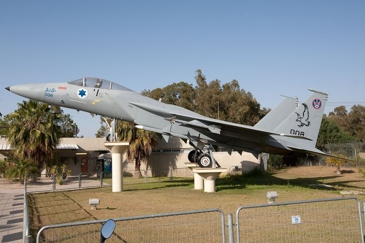 Tel Nof Airbase F15 Gate Guard Tel Nof AFB
