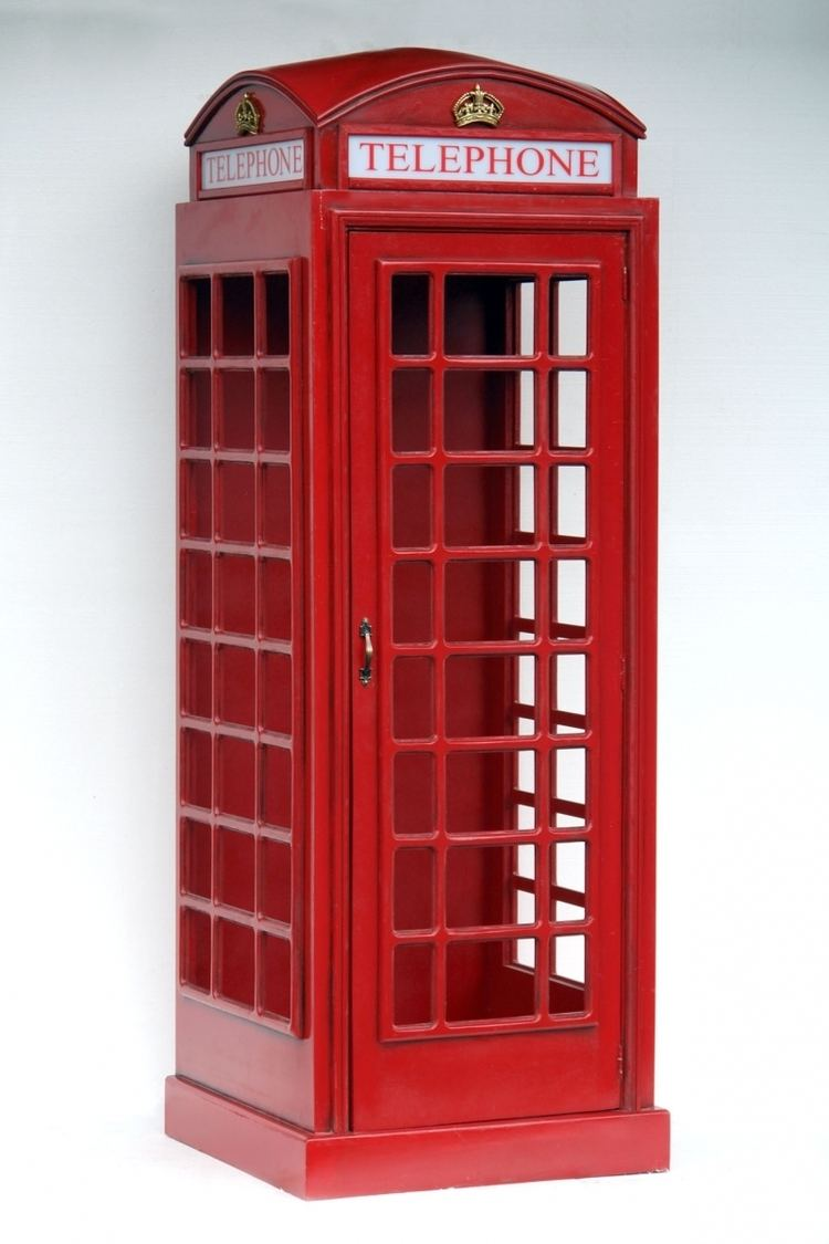 Telephone booth Pop Art Decoration Themes Garden amp Outdoor British Telephone Booth