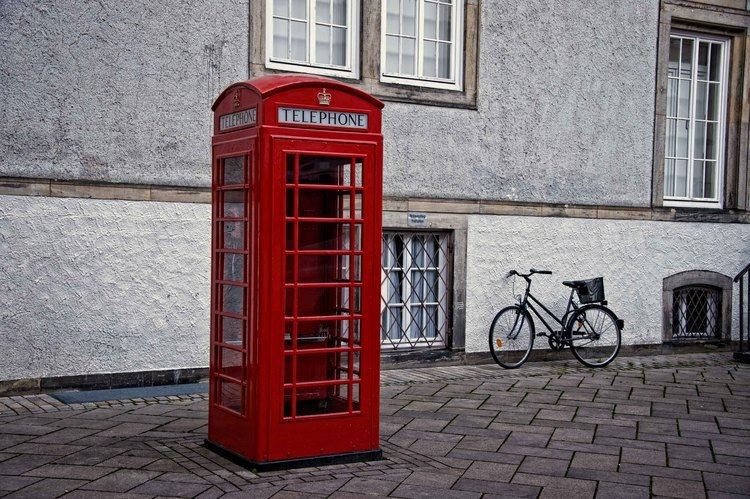 Telephone booth Telephone Booth World in your eyes