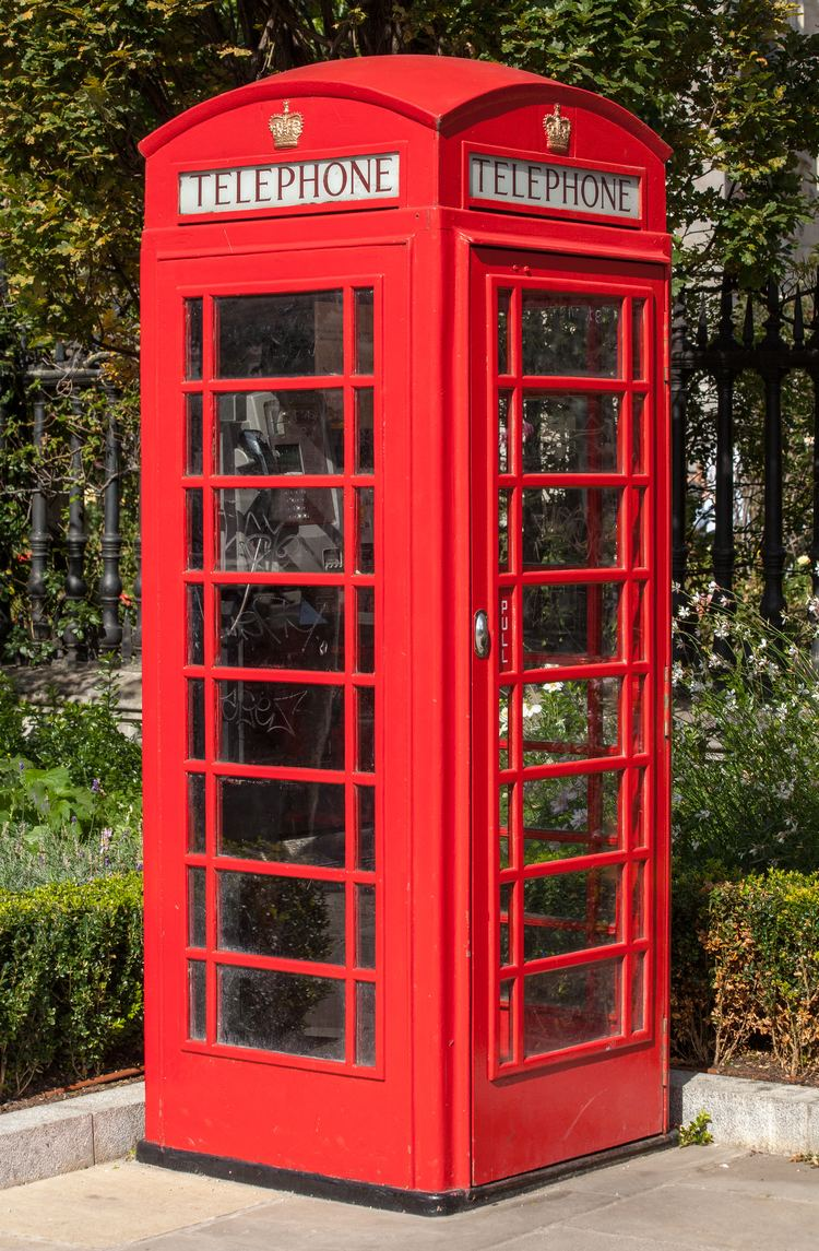Telephone booth Red telephone box Wikiwand