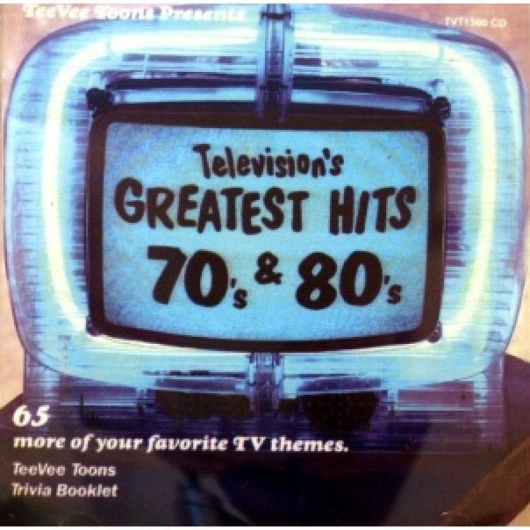 Television's Greatest Hits Crystal Ball Records Classic Hits Oldies Music Rare Records CD