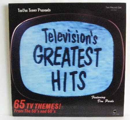 Television's Greatest Hits Various Artists Television39s Greatest Hits German Cd Records LPs
