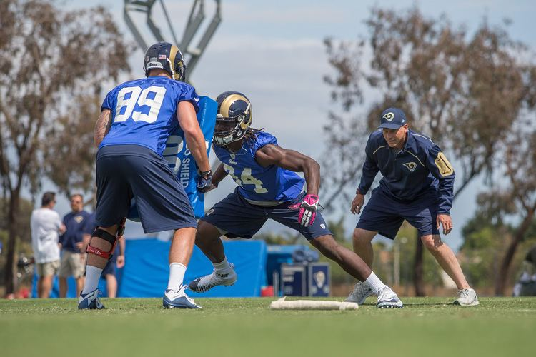 Temarrick Hemingway The LA Rams Report Introducing Rookie Tight End Temarrick Hemingway