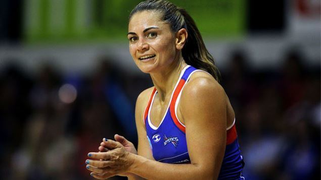 Temepara Bailey A couple of fresh voices at Silver Ferns training as they