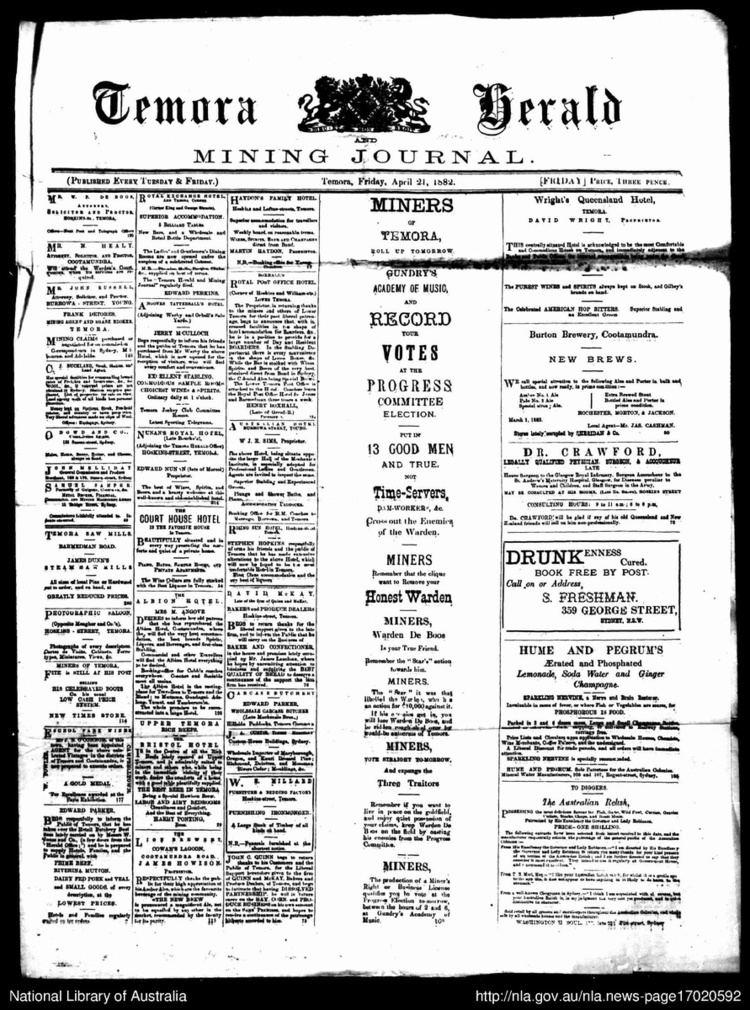 Temora Herald and Mining Journal