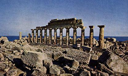Temple C (Selinus) Temple C at Selinius in Sicily Ashmolean Museum casts Sculpture