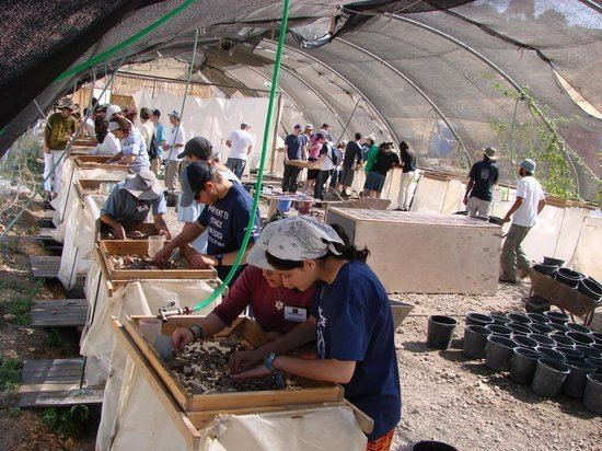Temple Mount Sifting Project Wet Sifting Guidance Picture of Temple Mount Sifting Project