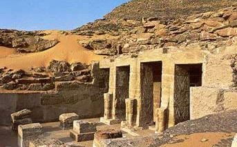 Temple of Derr The Temple of Derr in Nubia