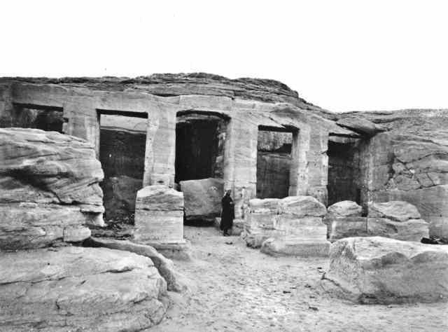 Temple of Derr el Derr Temple Nubia