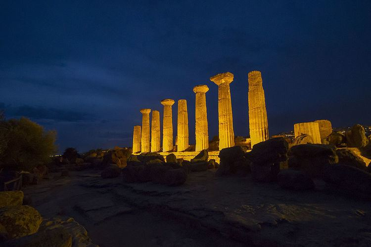 Temple of Heracles, Agrigento