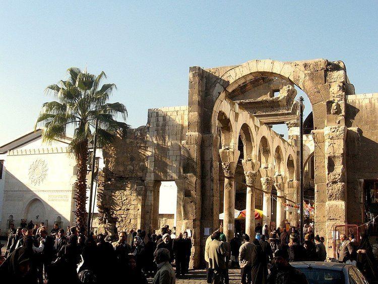 Temple of Jupiter, Damascus