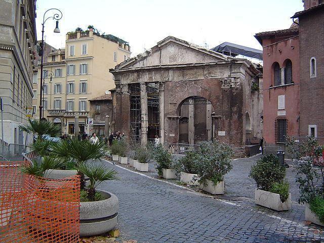 Temple of Jupiter Stator (8th century BC) RomaAntiqua