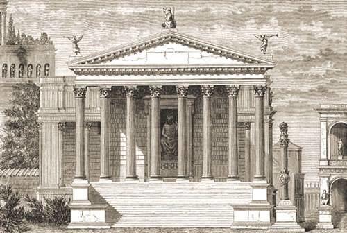 Temple of Jupiter Stator (8th century BC) Temple of Jupiter Stator in Palatio